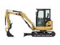 Where to rent CAT MINI EXCAVATOR W THUMB in Millville DE