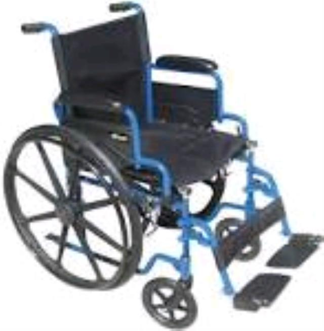 Where to find WHEELCHAIR, 18  WIDE FOLDING 250LB in Millville