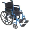 Where to rent WHEELCHAIR, 18  WIDE FOLDING 250LB in Millville DE